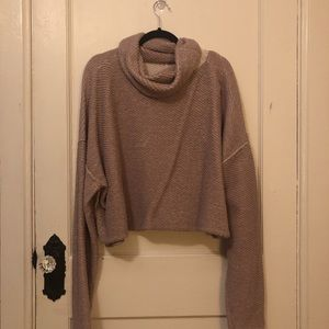 Lilac free people turtle neck